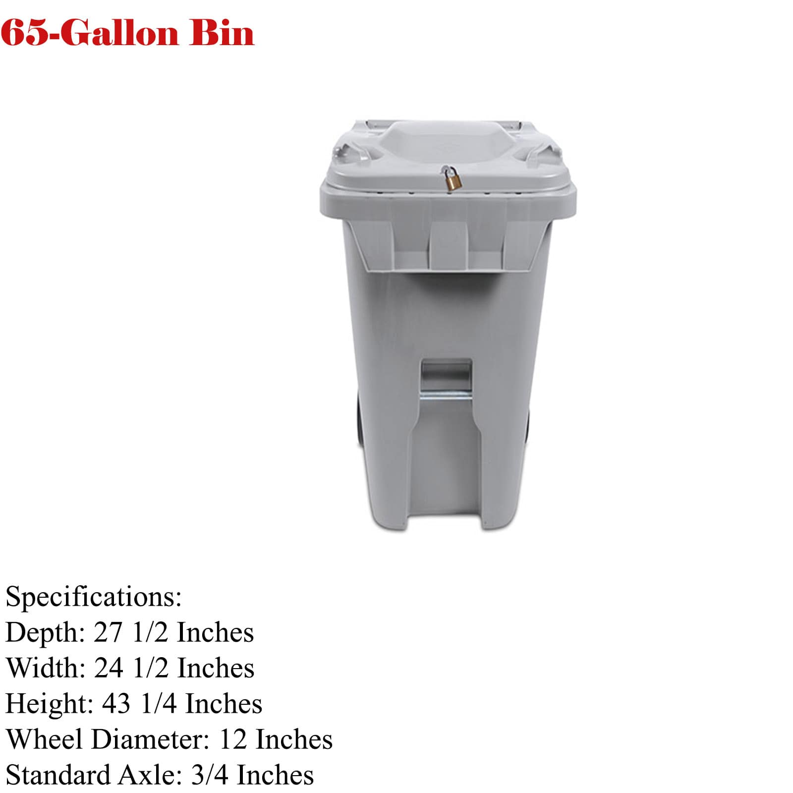65- gallons