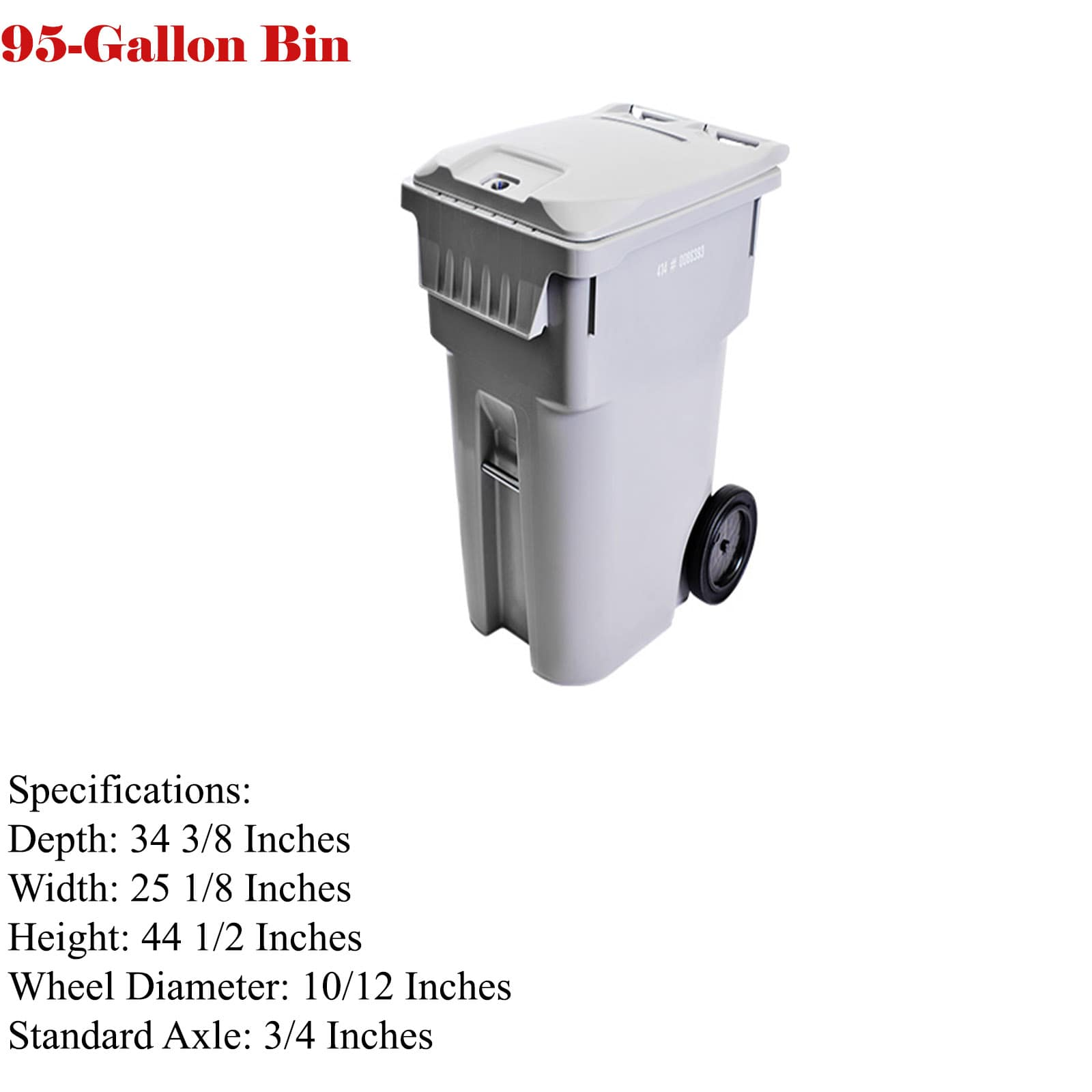95- gallons